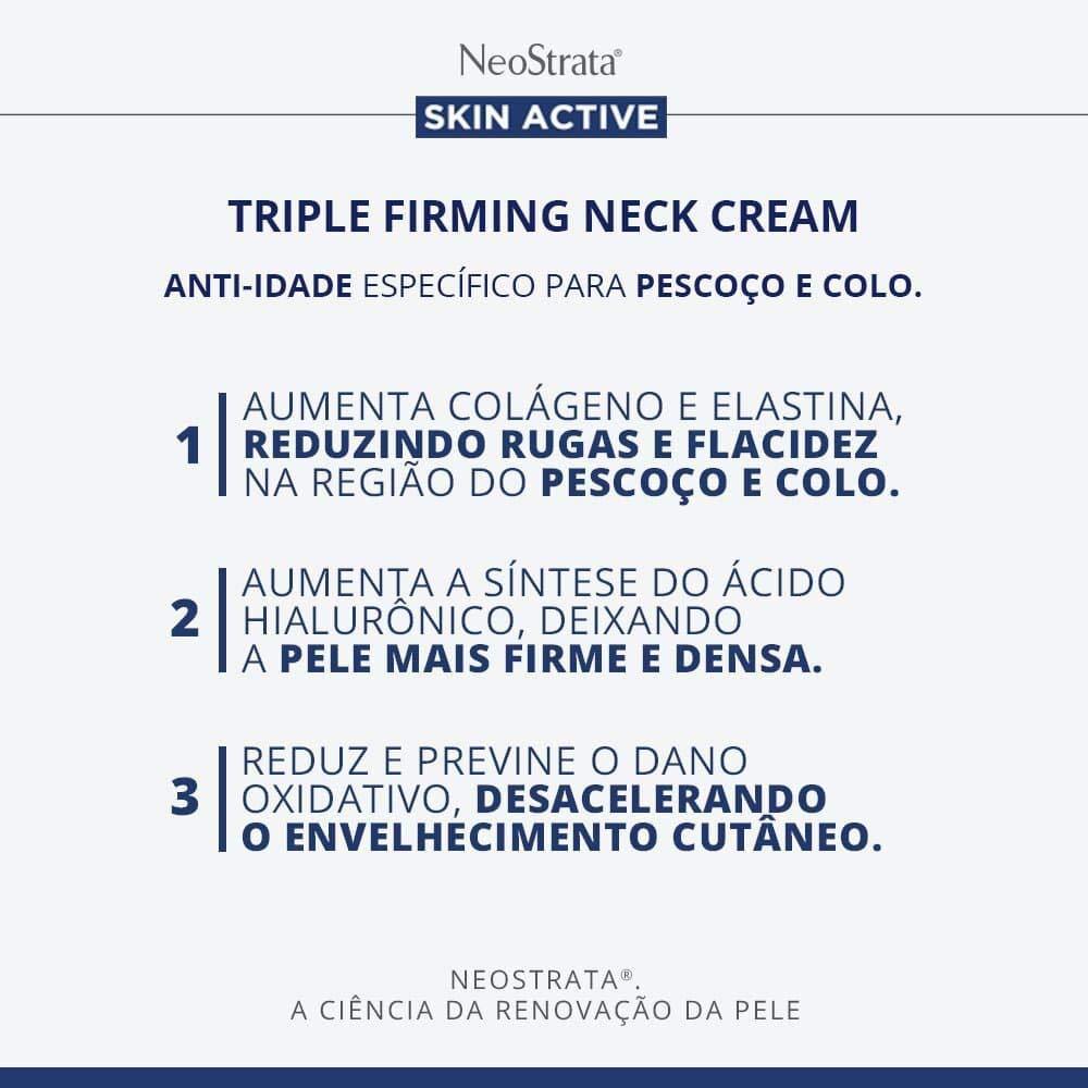 NeoStrata Skin Active Triple Firming Neck Cream, 2.8 oz: Beauty