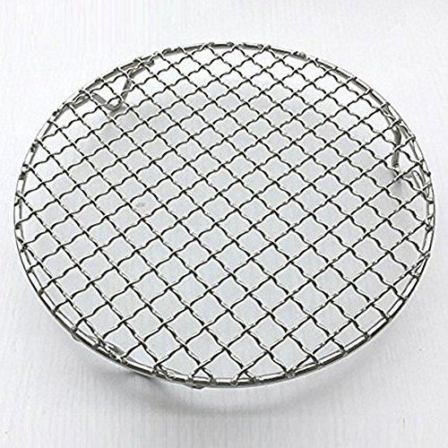Round Cake Rack - Loghot Multi-Purpose Round Stainless Steel Cross Wire Round Steaming Cooling Barbecue Racks/Carbon Baking Net/Grills/Pan Grate with Legs (Diameter-9.9 Inches)