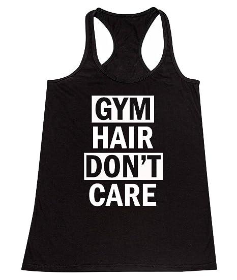 4b6684fa P&B Gym Hair, Don't Care Women's Tank Top at Amazon Women's Clothing ...