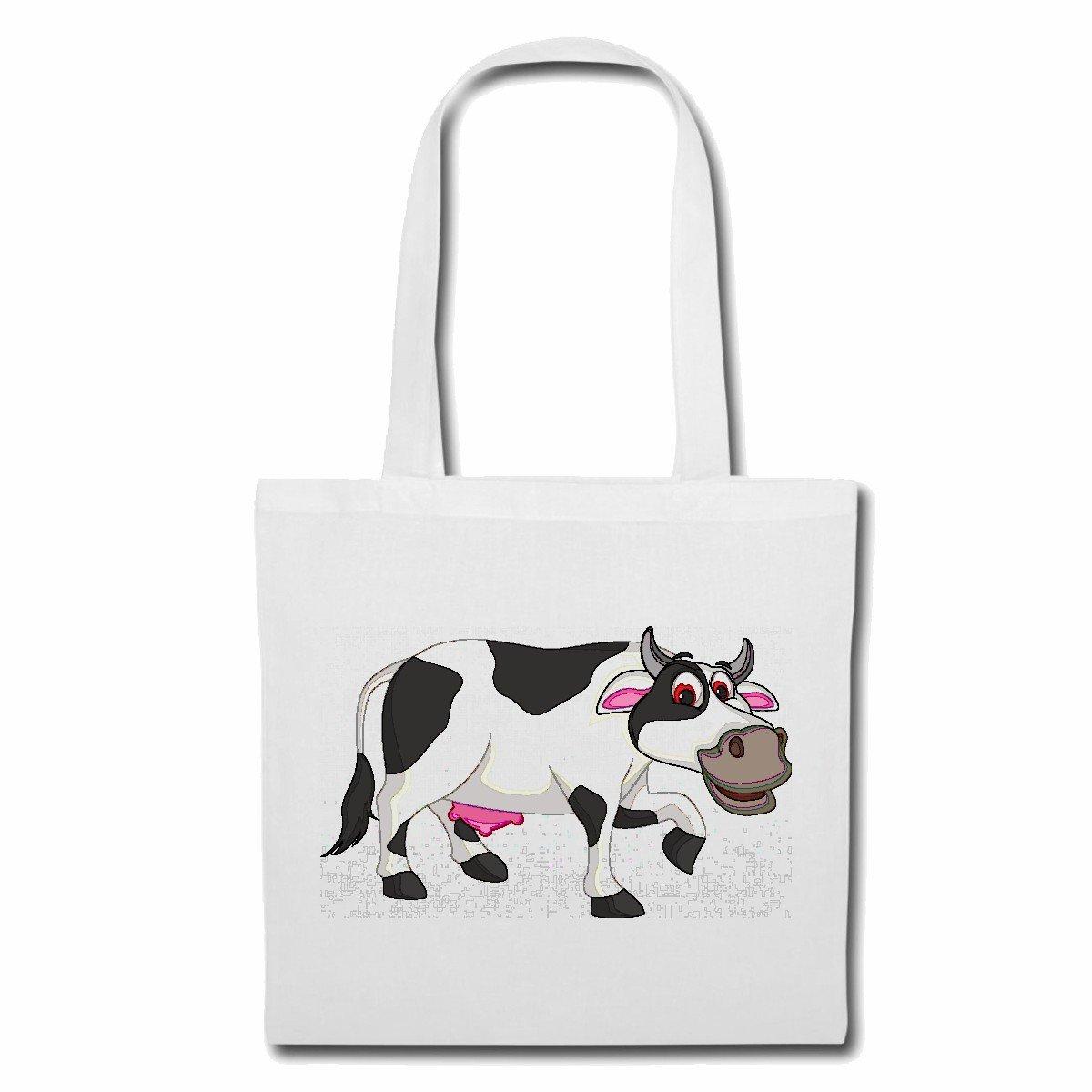 Bolsa Vaca feliz con la ubre CASA DE CARNE ganado de carne