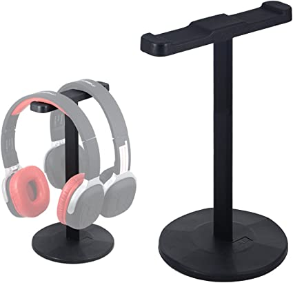 Aluminum Alloy Headphone Stand Holder Hanger Earphone Headset Display Rack