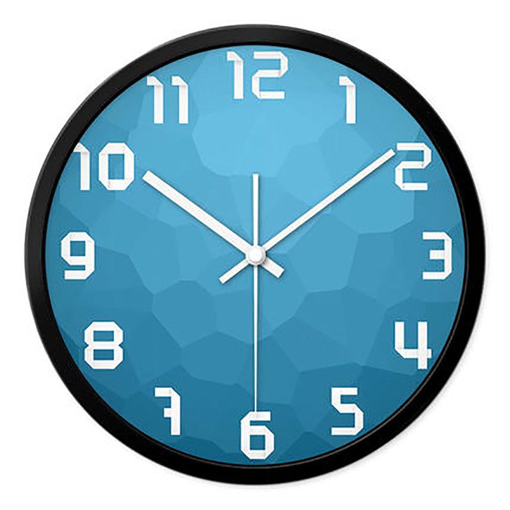 リビングルームクリエイティブ現代のクォーツ時計のベッドルーム静かなパーソナライズされたシンプルなファッションウォールクロック (色 : 1, サイズ さいず : S s) B07FP2724X S s|1 1 S s
