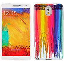 note3 Case, Samsung note 3 Case, Galaxy note3 Case , ChiChiC full Protective unique Case slim durable Soft TPU Cases Cover for Samsung Galaxy Note3 N900A N900V N9000 N9002 N9005 N900P N900T,colorful watercolor