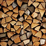 YTC Long Burning European Hard Wood Log 10Kg Nets by The Yorkshire Trading Company