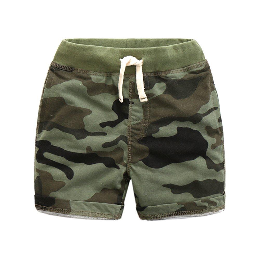 Enfants Chéris Toddler Boys Cargo Shorts Knit Cotton Camo Boardshorts Combat Short