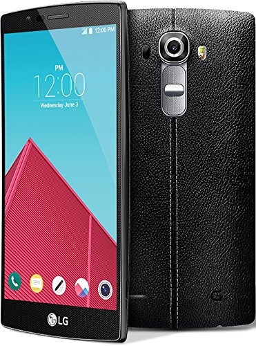 LG G4 H810 GSM Unlocked Android 4G LTE 32GB Smartphone (Certified Refurbished) (Leather Black) by LG