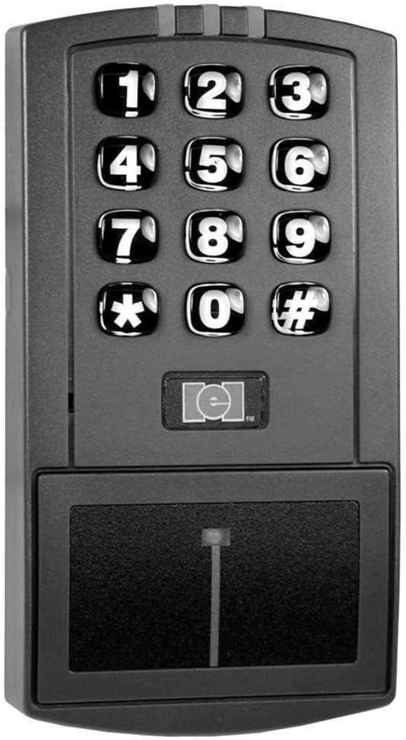 INTERNATIONAL ELECTRONICS 0-205676 IEI DOOR-GARD STAND ALONE HID PROXIMITY READER//KEYPAD