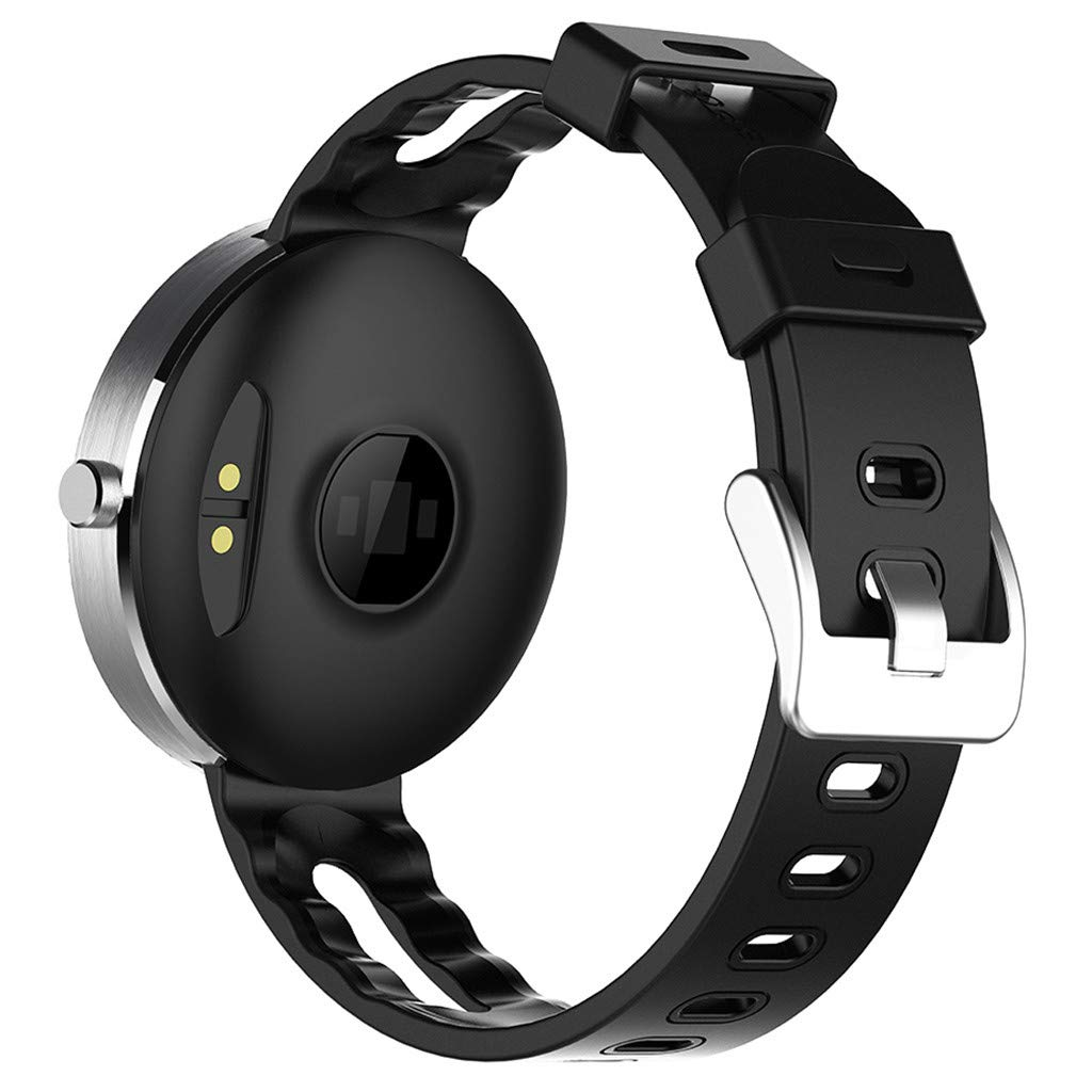 YNAA for Android iOS, Sport Smart Watch, Fitness Calorie Heart Rate Monitoring Physiological Cycle Reminder Smart Bracelet (A) by YNAA (Image #5)