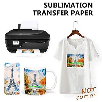 Amazon.com: Papel de sublimación para impresoras EPSON de ...