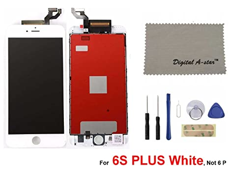 Amazon.com  iphone 6S Plus Screen Replacement Set For Lcd Touch Screen  Digitizer Frame Assembly (Free Tool Kit) iphone 6S Plus(White)  Electronics 63d0743369