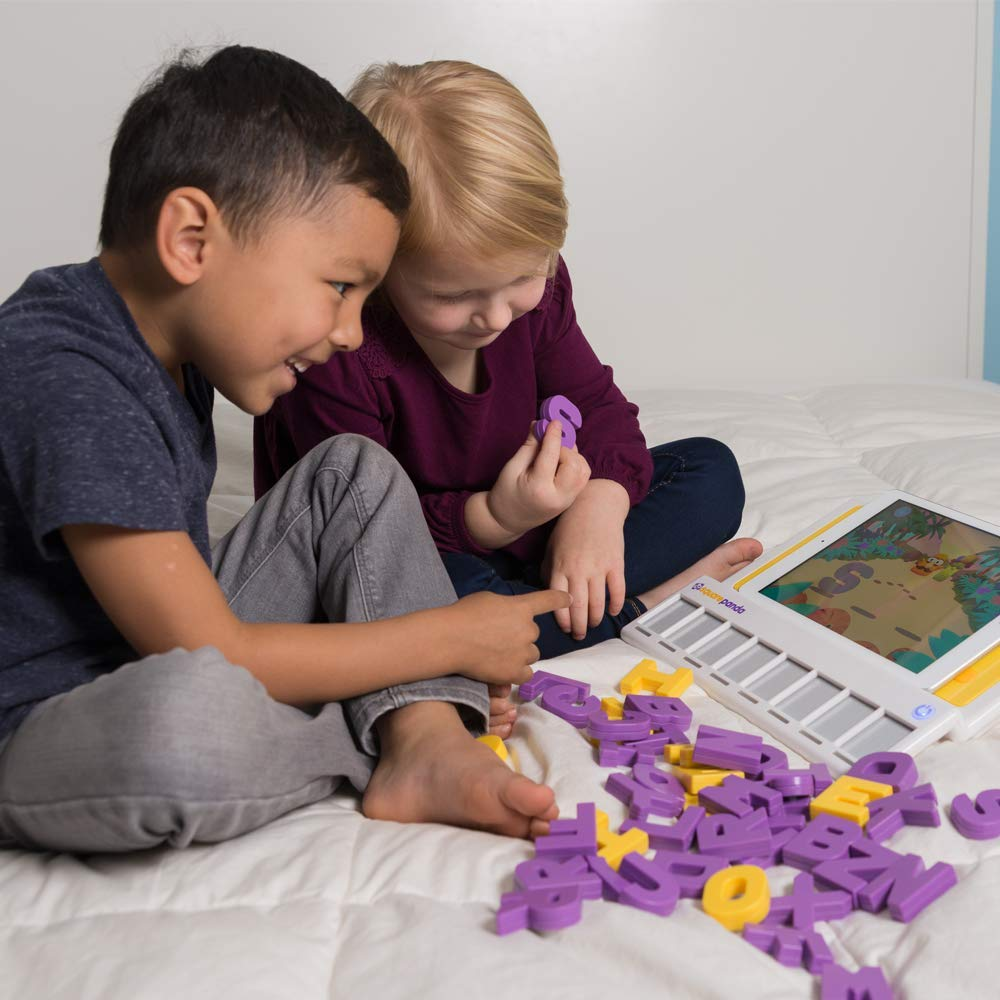 Square Panda Phonics Multisensory Sight, Touch, and Sound Playset for Kids Learning to Read - Home Edition by Square Panda Inc. (Image #3)
