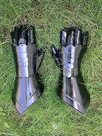 NAUTICALMART Medieval Armor Steel Gauntlets by NAUTICALMART (Image #2)