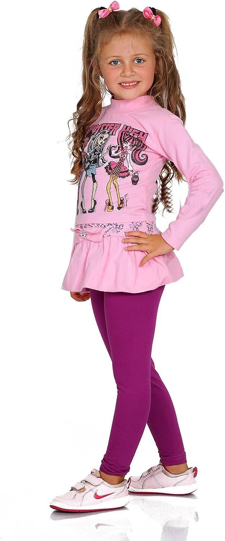 yeset Kinder Thermo M/ädchen Leggings Fleece Hose lang Leggins Baumwolle