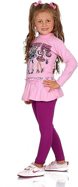 Girls Plain Full Length Legging Age 2 3 4 5 6 7 8 9 10 11 12 13 Multiple Colours