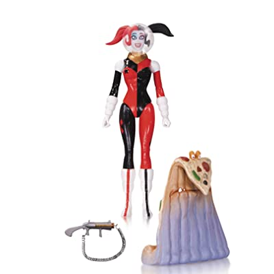 DC Collectibles Comics Designer Series: Amanda Conner Spacesuit Harley Quinn Action Figure: Toys & Games