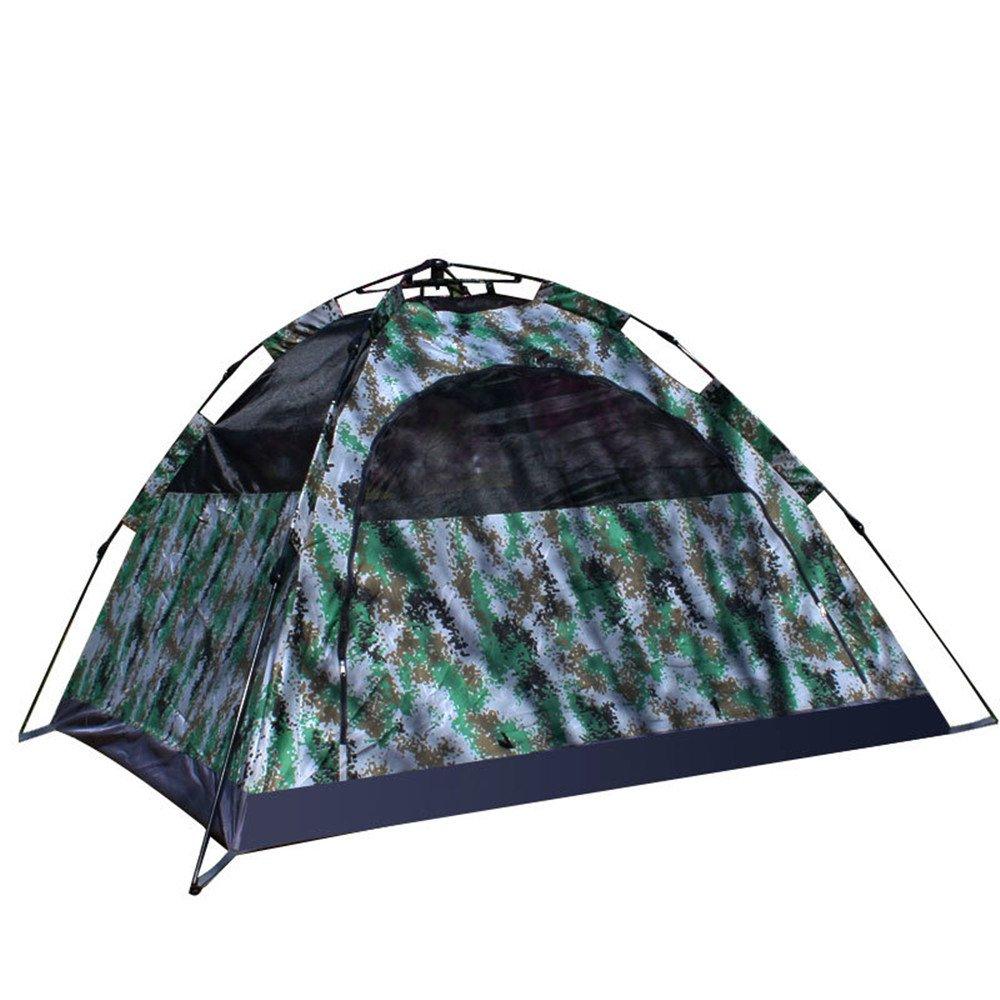 JIE KE 3-4 Campingzelt, digitales Tarnungszelt zur Erhöhung des Tarnungszeltes 3-4 KE Personen im Freien Doppeltes 420D Dickes Stoffzelt, Bergsteigerzelte a20bc3