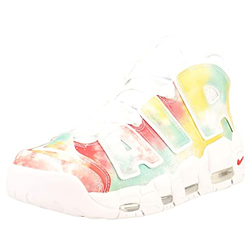 1209e961c0 Nike Men's's Air More Uptempo '96 UK Qs Fitness Shoes Multicolour  (Amarillo/White