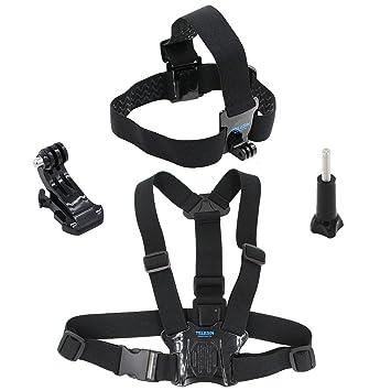 telesin cabeza correa cinturón Mount + pecho Cinturón Correa Arnés ...
