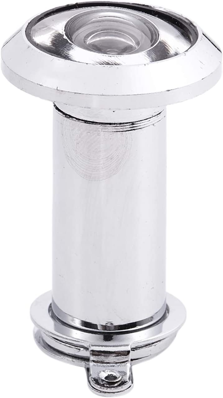 RETYLY 200 Grad 35-60Mm Weitwinkelbereich Guckloch T/ürspion Silber Ton