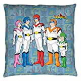 Voltron Sci-Fi Animated Series TV Show The Team Throw Pillow