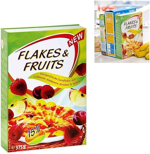 caja fuerte mimetizzata en una paquete de cereales: Amazon.es: Hogar