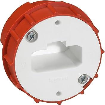 Legrand Batibox LEG91942 - Caja y enchufe para aplique de empotrar en yeso (54 mm de diámetro): Amazon.es: Bricolaje y herramientas