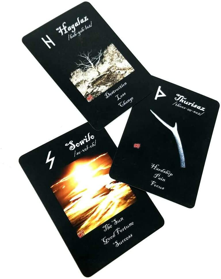 NKH TAROT Rune Gata Secret Pathway Rune and Sigil Deck 1st