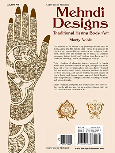 Mehndi Designs Traditional Henna Body Art Noble Marty 8601300296173 Books Amazon Ca