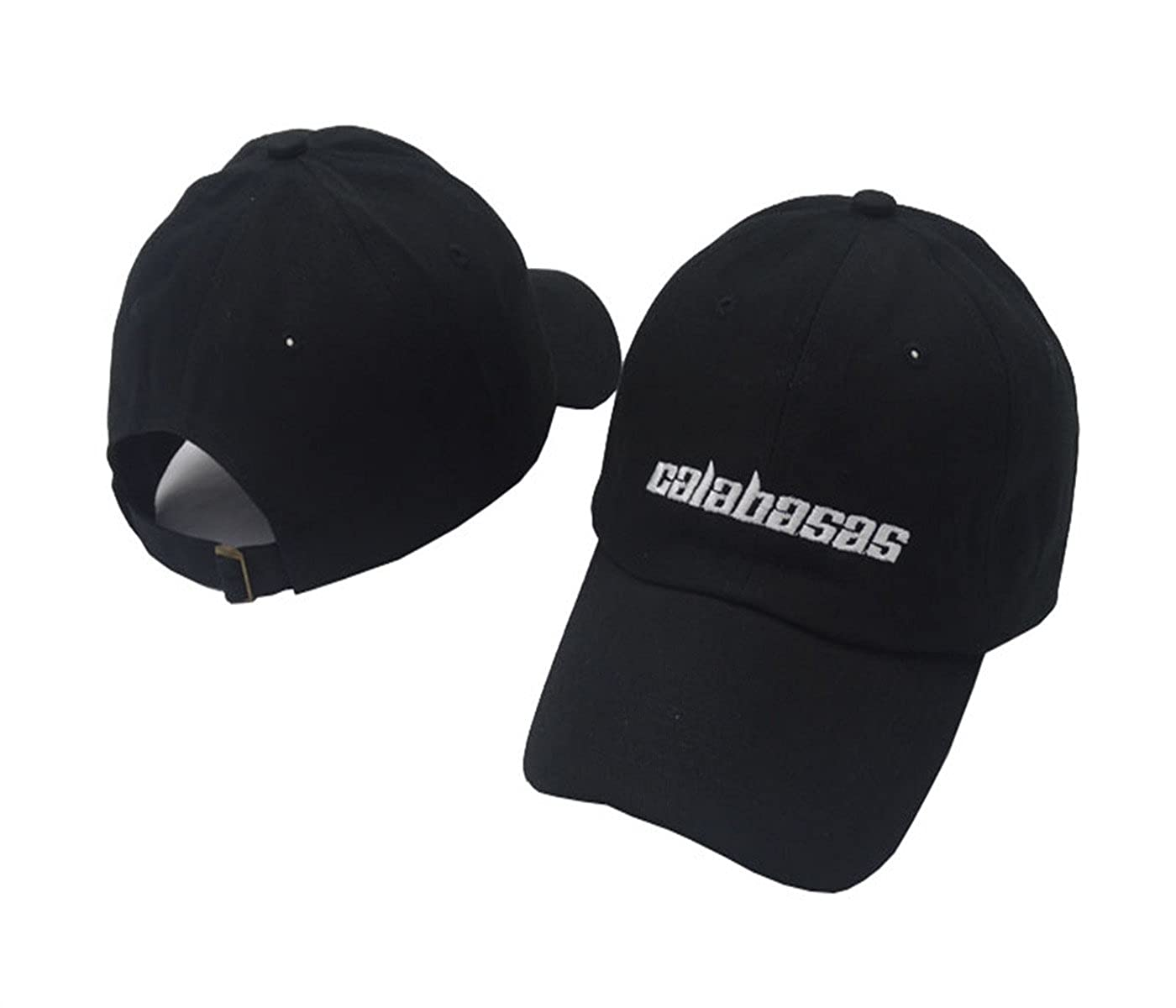 TOODOO Letter Embroidered Curved Brim Baseball Caps Calabasas Hat