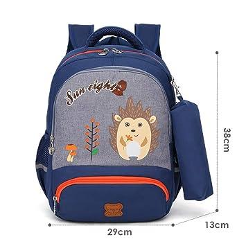 Impresión de Animales Bolsas para niños Niños Kinder Mochila Escolar para niños/niña Mochila Impermeable