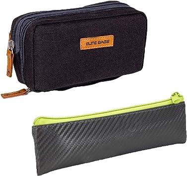 Elite Bags, Pack 2 estuches para diabéticos, Estuche isotérmico negro Diabetics, Estuche isotérmico gris y lima Insulins: Amazon.es: Salud y cuidado personal