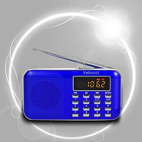 Review Portable FM Radio Digital