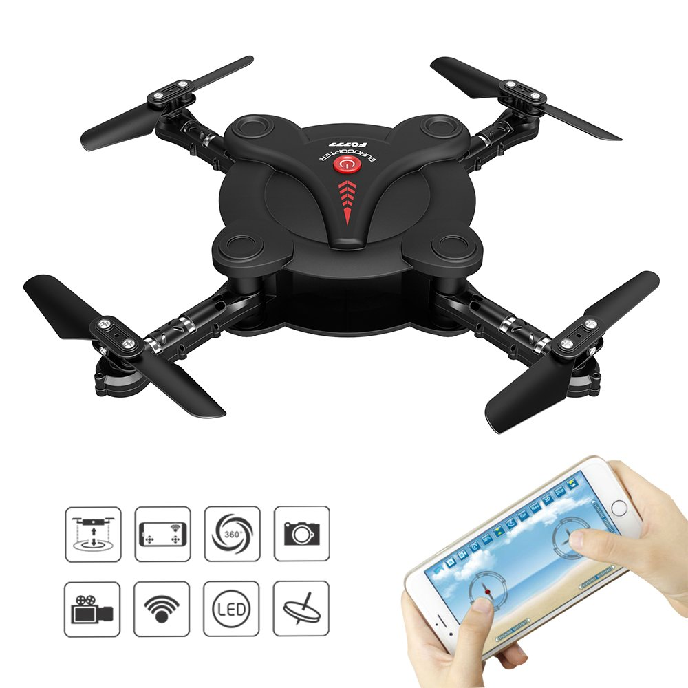 RC Quadcopter Drone with FPV Live Video launched with 3D Flips & Rolls At Kidcia Amazon Online Store