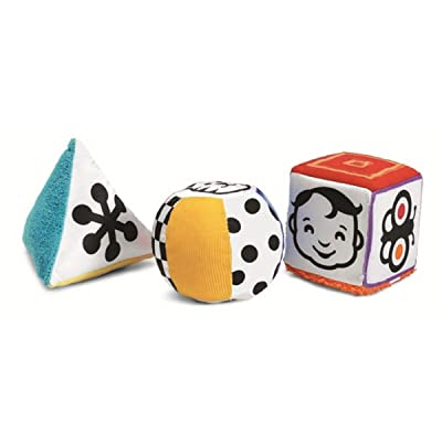 Manhattan Toy Wimmer-Ferguson Mind-Shapes Multi-Sensory Soft Activity Shape Set: Toys & Games