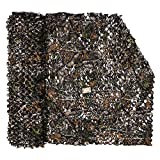 LOOGU Camouflage Net Camo Netting Blinds for Shooting Hunting Camping (Bionic Maple Leaf 1, 1.5x2M=5x6.6ft)