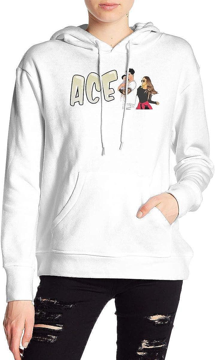 AC-E Family Printed Hoodies Children Boys and Girls Pocket Pullover Sweatshirt