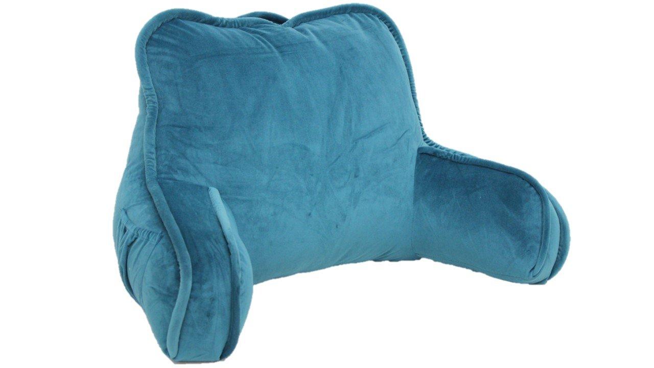 Brentwood Originals 2136 Plush Bed Rest, Teal
