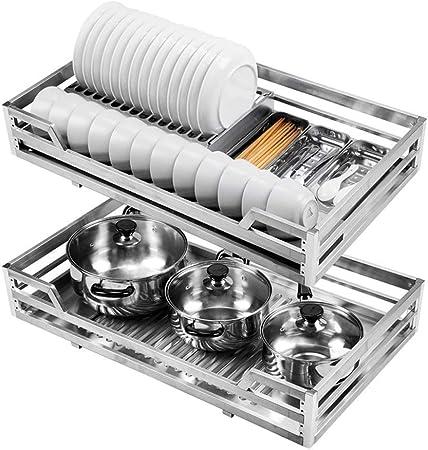 Armoire Rangement Sous Tablette Panier De Rangement Cuisine