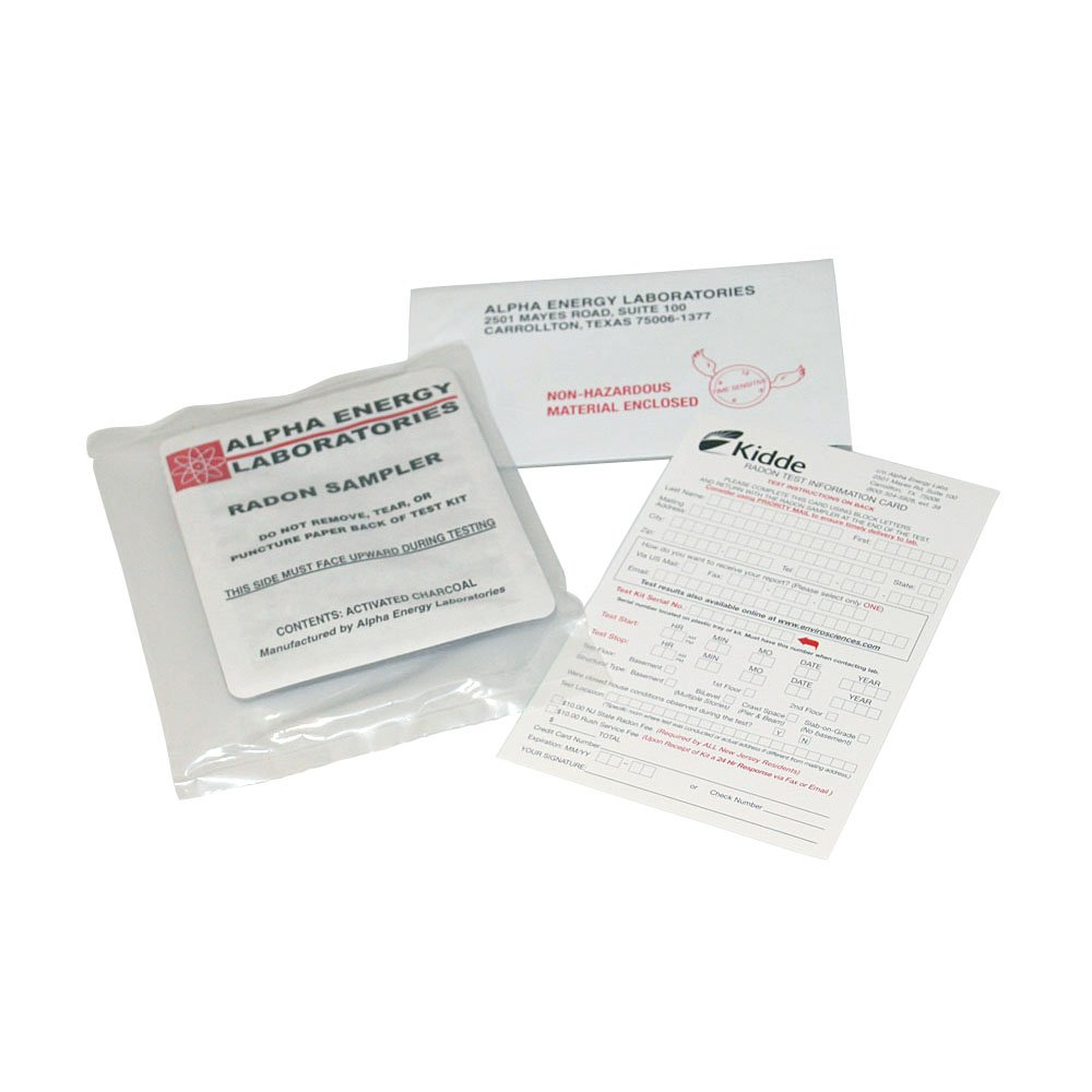 Kidde 442020 Radon Gas Detection Test Kit