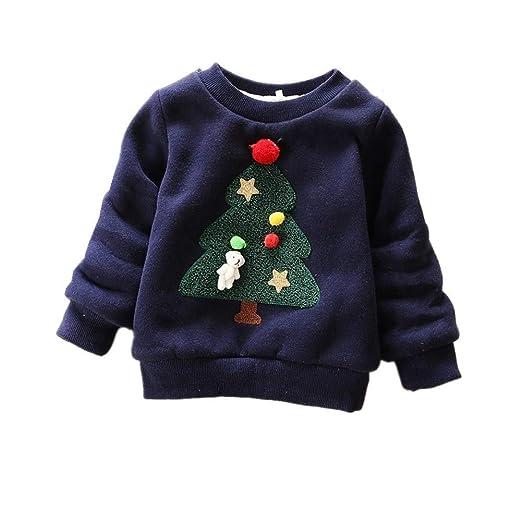 044efe37f Amazon.com  BibiCola Baby Girls Boys Sweaters Autumn Winter Wear ...