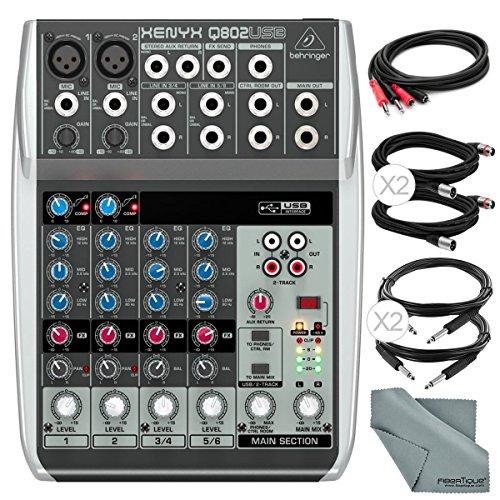 8 track mixer usb - 3