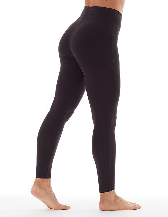 fea6c25f3c4 Amazon.com  Bally Total Fitness Womens Tummy Control Long Legging  Sports    Outdoors