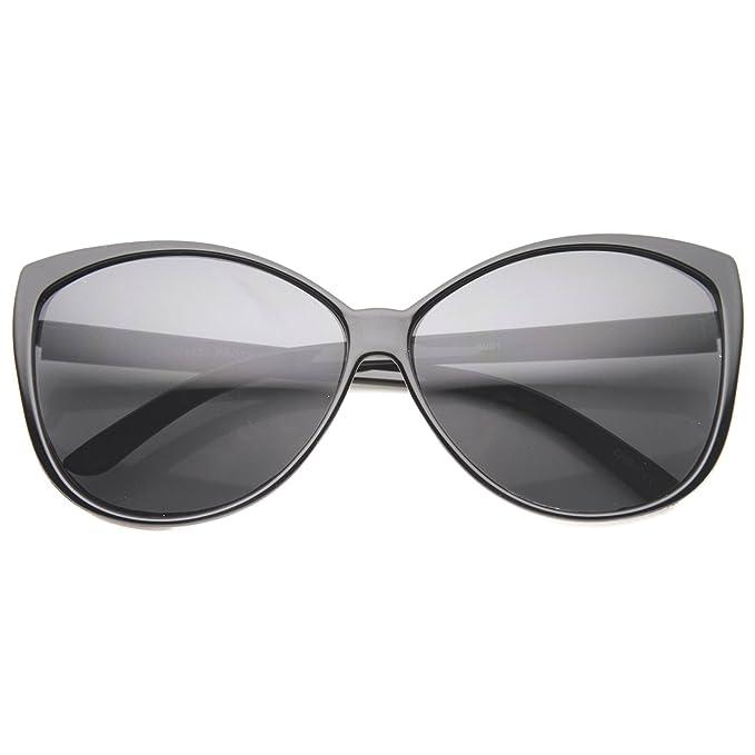 Amazon.com: zeroUV – Oversize mujer mariposa Gradient Lens ...