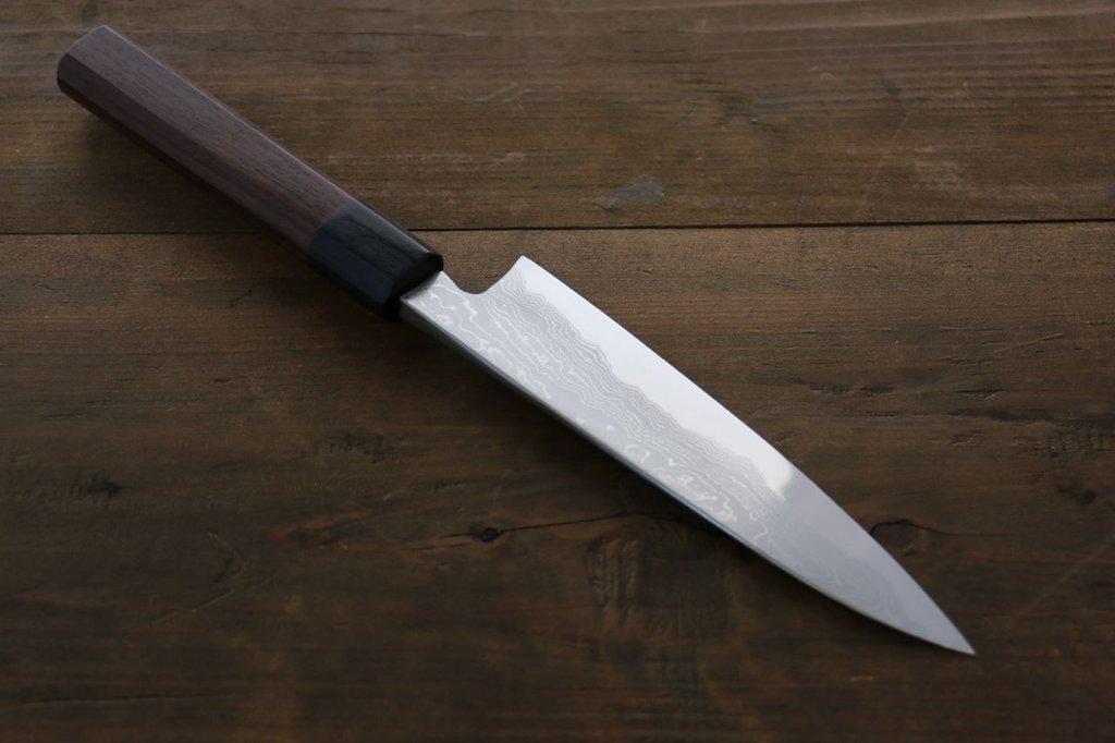 TAKAYUKI IWAI AOGAMI STEEL NO.2 FUMON SERIES GYUTO JAPANESE CHEF KNIFE