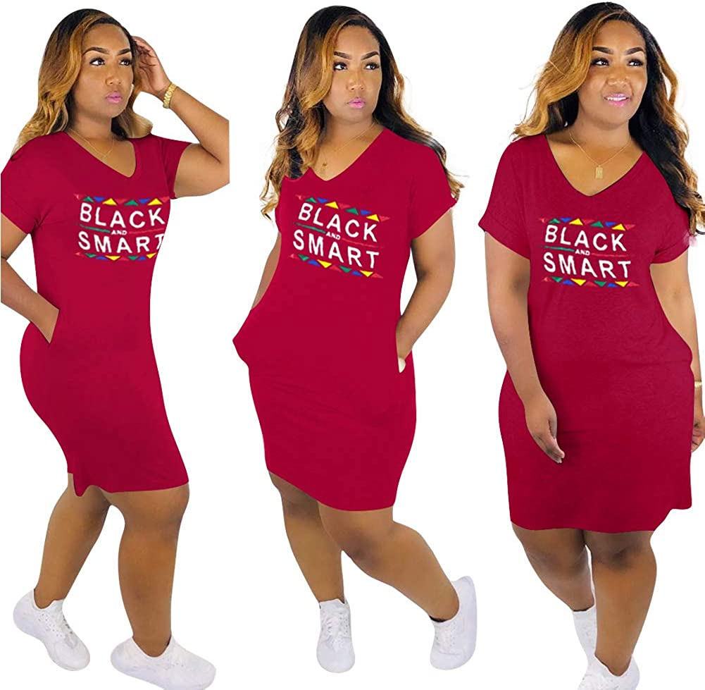 OLUOLIN Women Casual Long Sleeve Colorful Letter Print Color Block Pullover Club Party Midi Pencil Shirt Dress