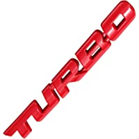 Alamor Turbo 3D Metal Car Sticker Sticker Car Body Achterkant Badge voor Auto