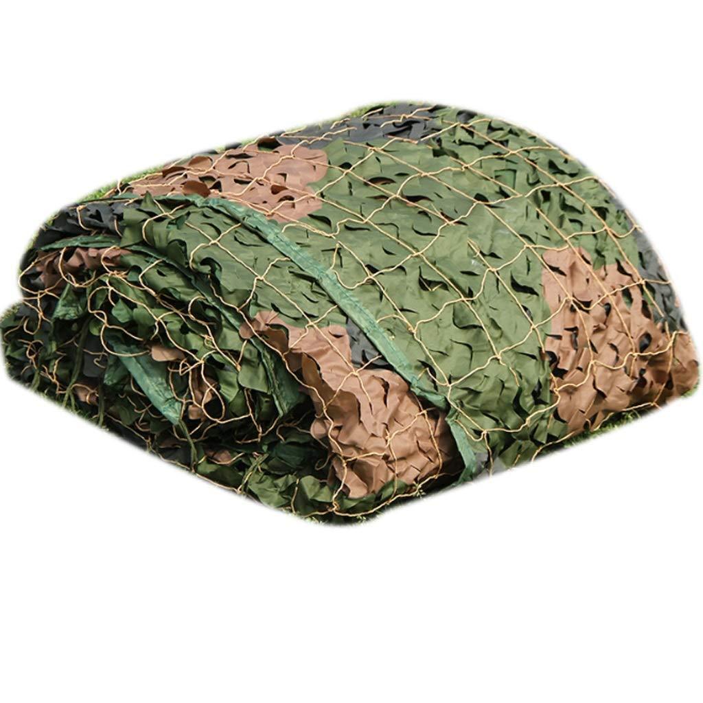 Qjifangwzh Tarnungs-Netze, Sonnenschutz-Sonnenschutz, der Camo Netting im Freien kampiert, mehrfache Größen