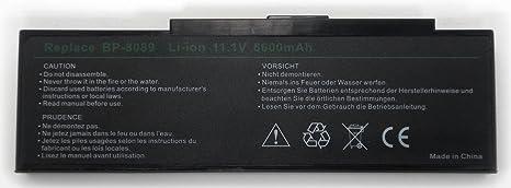 Batería de 9 Celdas Para Ordenador Portátil PACKARD BELL EASYNOTE E4725 73Wh 6,6Ah