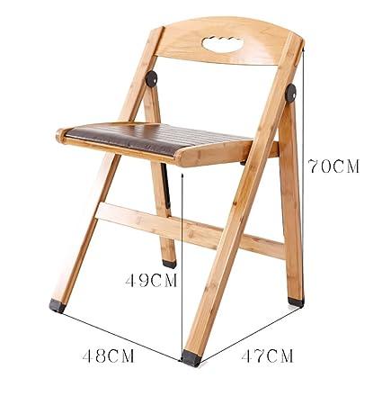 silla plegable Sillas plegables Sillas de ordenador reales ...