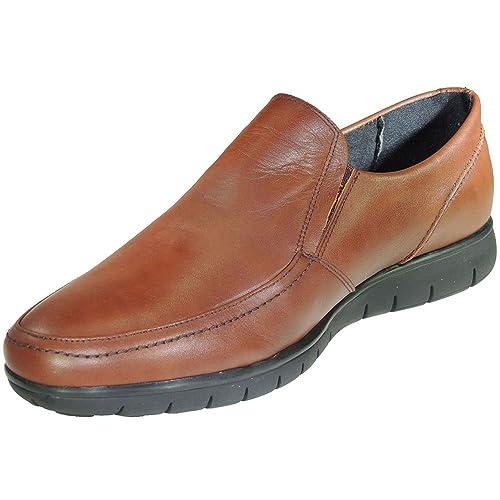 COMODOSPORT 074 Zapato Mocasín Confortable Tipo 24 Horas Ancho y Blando para Hombre: Amazon.es: Zapatos y complementos